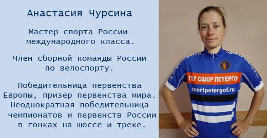 Анастасия Чурсина - мастер спорта России международного класса